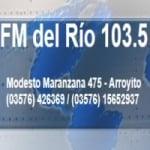 Logo da emissora Radio Del Río 103.5 FM