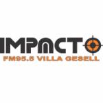 Logo da emissora Radio Impacto 95.5 FM