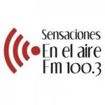 Logo da emissora Radio Sensaciones 100.3 FM