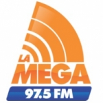 Logo da emissora Radio La Mega 97.5 FM