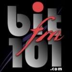 Logo da emissora Radio BIT 101.1 FM