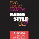 Logo da emissora Radio Stylo 92.7 FM