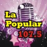 Logo da emissora Radio La Popular 107.5 FM