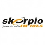 Logo da emissora Radio Skorpio 102.5 FM