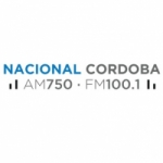 Logo da emissora Radio Nacional Córdoba 750 AM 100.1 FM