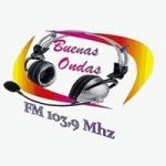 Logo da emissora Radio Buenas Ondas 103.7 FM
