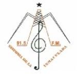Logo da emissora Radio Sinfonía 91.5 FM