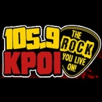Logo da emissora KPOI The Ride 105.9 FM