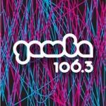 Logo da emissora Radio Gamba 106.3 FM