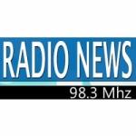 Logo da emissora Radio News 98.3 FM