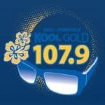 Logo da emissora KKOL Kool Gold 107.9 FM