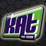 Logo da emissora KGUM The Kat 105.1 FM