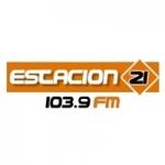 Logo da emissora Radio Estación 21 103.9 FM