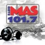 Logo da emissora Radio Más 101.7 FM