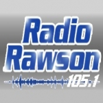 Logo da emissora Radio Rawson 105.1 FM