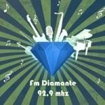 Logo da emissora Radio Diamante 92.9 FM