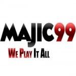 Logo da emissora Radio Majic 99.5 FM