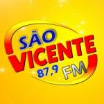 Logo da emissora Rádio São Vicente 87.9 FM
