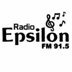 Logo da emissora Radio Epsilon 91.5 FM
