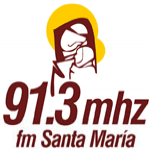 Logo da emissora Radio Santa María 91.3 FM