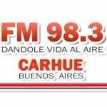 Logo da emissora Radio Carhue 98.3 FM