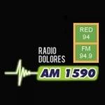 Logo da emissora Radio Dolores 1590 AM 94.9 FM