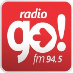 Logo da emissora Radio Go 94.5 FM