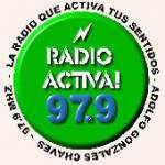Logo da emissora Radio Activa 97.9 FM