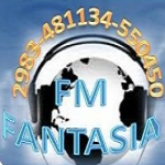 Logo da emissora Radio Fantasia 98.9 FM