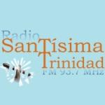 Logo da emissora Radio Santissima Trinidad 93.7 FM