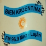 Logo da emissora Radio Bien Argentina 96.9 FM