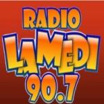 Logo da emissora Radio La Medi 90.7 FM