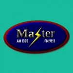 Logo da emissora Radio Master 1320 AM 99.3 FM