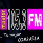 Logo da emissora Radio Master 105.3 FM