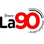 Logo da emissora Radio La 90 90.1 FM