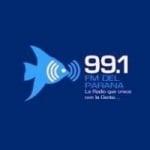 Logo da emissora Radio Del Paraná 99.1 FM
