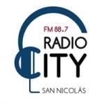 Logo da emissora Radio City 88.7 FM