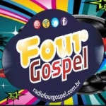 Logo da emissora Rádio Four Gospel