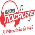 Logo da emissora Rádio Nocaute