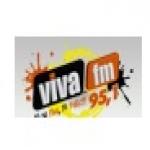 Logo da emissora Rádio Viva 95.1 FM