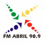 Logo da emissora Radio Abril 90.9 FM