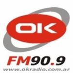 Logo da emissora Radio OK 90.9 FM