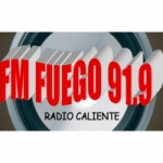 Logo da emissora Radio Fuego 91.9 FM