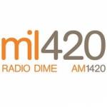 Logo da emissora Radio Dime 1420 AM