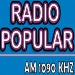 Logo da emissora Radio Popular 1090 AM