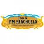 Logo da emissora Radio Riachuelo 100.9 FM