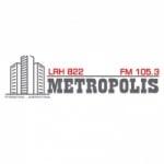 Logo da emissora Radio Metropolis 105.3 FM