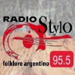 Logo da emissora Radio Stylo 95.5 FM