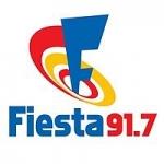 Logo da emissora Radio Fiesta 91.7 FM