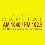 Logo da emissora Radio Capital 1040 AM 102.5 FM